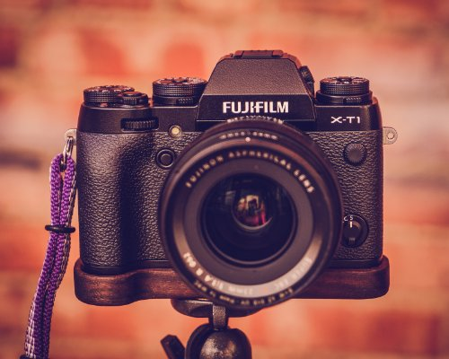Premium Wood Grip-Base For Fuji X-T1 By J.B. Camera Designs - Made In The Usa