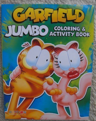 Garfield 64pg Coloring and Activity Book. - 1