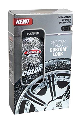 Black Magic 120024 Tire Wet Silver Spray, 8 oz. (Black Tires compare prices)