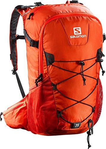 Salomon ZAINO EVASION, Vivid arancione/Lava Arancione, 45 x 35 x 25 cm, 25 litri, L38241100