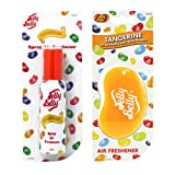 JELLY BELLY TANGERINE BEAN SWEET 3D HANGING + SPRAY SET SCENT AIR FRESHENER