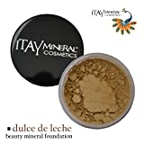 Itay Mineral Foundation Loose Powder 9gr MF-5 - DULCE DE LECHE + Cala Lily 7pcs Brush Set 70816