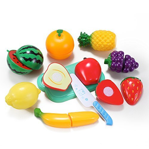 Kitchen Fun Cutting Fruits Cooking Playset for Kids - 1