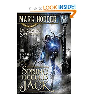 The Strange Affair of Spring Heeled Jack - Mark Hodder