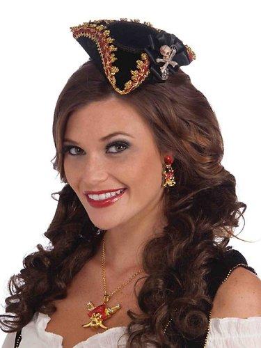 Mini Buccaneer Beauty Skull Hat