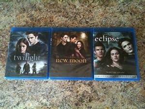 Twilight Trilogy Blu ray set (first 3 movies) Twilight, New Moon & Eclipse