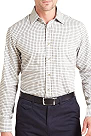 Pure Cotton Classic Tattersal Checked Shirt [T11-1992-S]