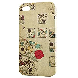 a AND b Designer Printed Mobile Back Cover / Back Case For Apple iPhone 5 / Apple iPhone 5s (5S_3D_3133)