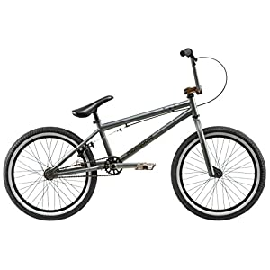 Mongoose Boy's R1598WM 540 Mode Freestyle Bike, Matte Grey, 20""