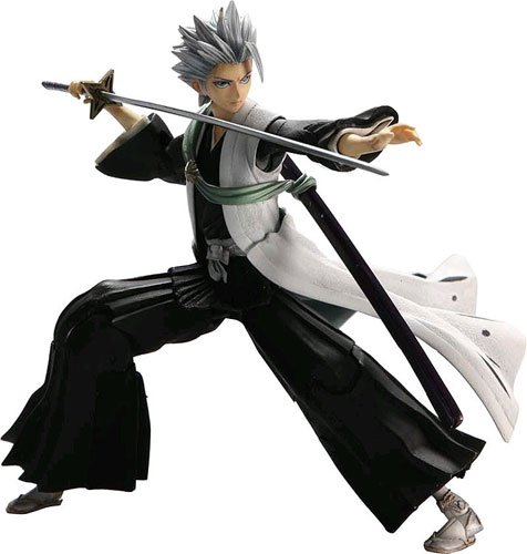 Bleach : Toshiro Hitsugaya Captain Play Arts Kai Action Figure