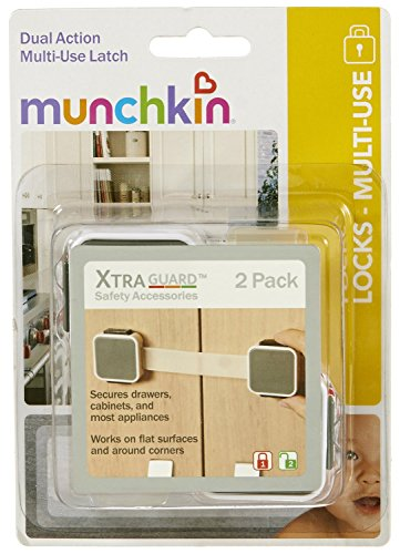 Munchkin-XTRAGUARD-2-Count-Dual-Action-Multi-Use-Latches