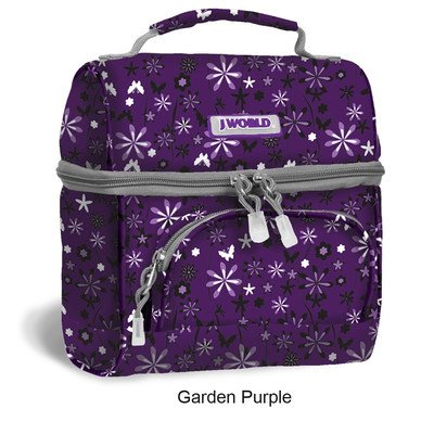 J World New York Corey Lunch Bag (Garden Purple) - 1