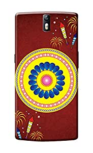 One Plus One Cover, Premium Quality Designer Printed 3D Lightweight Slim Matte Finish Hard Case Back Cover for One Plus One by Tamah