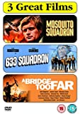 War Films Triple Pack : Mosquito Squadron / 633 Squadron / A Bridge Too Far (3 Disc Box Set) [DVD]