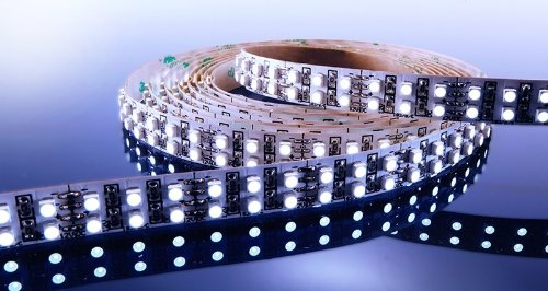 KapegoLED Flexibler LED Stripe, 3528, SMD, 12 V DC, 57,60 W, kaltweiß 840055