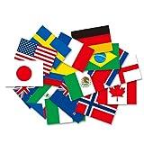 世界の国旗ポストカードシリーズ 2011 サッカー女子ワールドカップ ドイツ大会 出場国セット(16カ国)FLAGS OF THE WORLD POST CARD 2011 Soccer Women's World Cup Germany