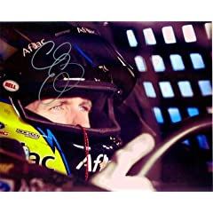 Buy 2011 Carl Edwards #99 Aflac Racing Pre-Race 8×10 Photo SIGNED by Trackside Autographs