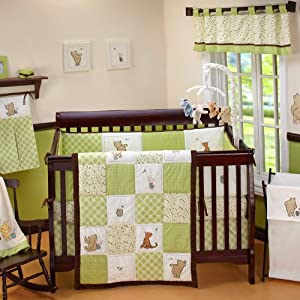 My Friend Pooh 4 Piece Baby Crib Bedding Set by Disney Baby