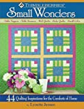 Thimbleberries Small Wonders: 44 Quilting Inspirations for the Comforts of Home (1935726048) by Lynette Jensen
