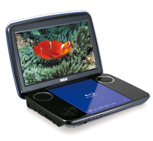 rca brc3108 10 inch portable blu ray player blue black. Black Bedroom Furniture Sets. Home Design Ideas