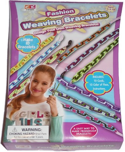 Fashion Weaving Bracelets - Design and make 10 Bracelets