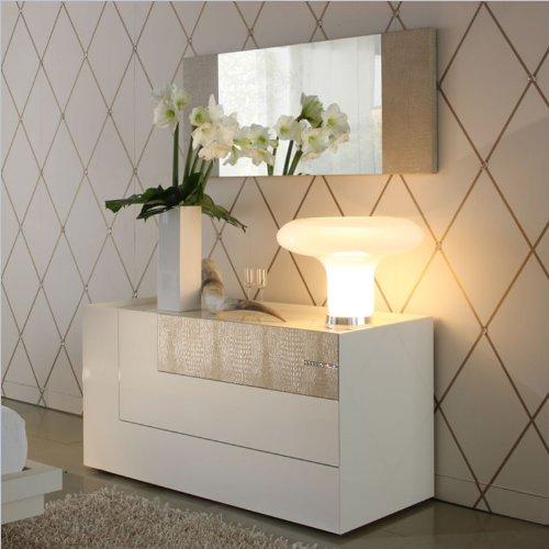 Rossetto Diamond Dresser In Ivory front-281963
