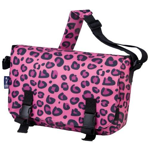 Wildkin 54214 Pink Leopard Jumpstart Messenger Bag