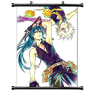 "D. Gray-Man Anime Fabric Wall Scroll Poster (16"" X 22"") Inches"