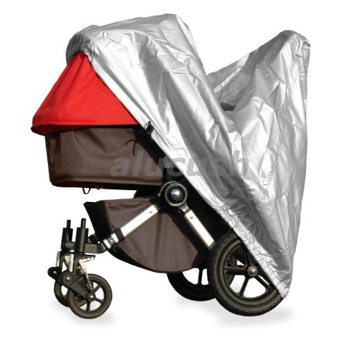 alucush Abdeckung für Kinderwagen ABC-Design Turbo 6S Regenschutz Regenverdeck