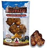 Loving Pets Pure Buffalo Meaty Femur Knuckle Dog Treat, 2-Pack