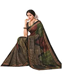 Design Willa Cotton Saree (Dwcshr045_Multi-Coloured)
