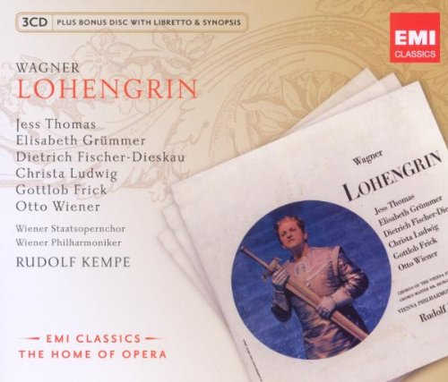 Lohengrin / New Opera Series (R.Klempere) / Wagner - 3CD