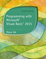 Programming with Microsoft Visual Basic 2015 Front Cover