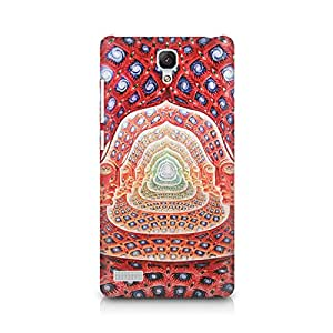 Mobicture Psychedelic Faces on the wall Premium Printed Case For Xiaomi Redmi Note