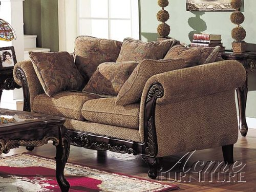 Buy Low Price Acme Furniture Bordeaux Chenille Fabric Loveseat by Acme (B0050J0RT0)