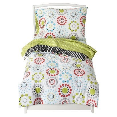 Sumersault Colorburst Toddler Bedding Set - Bed Accessories - Toddler Bedding - Bedroom Collection - This is everyday style that makes sense for your life and your home. - 1