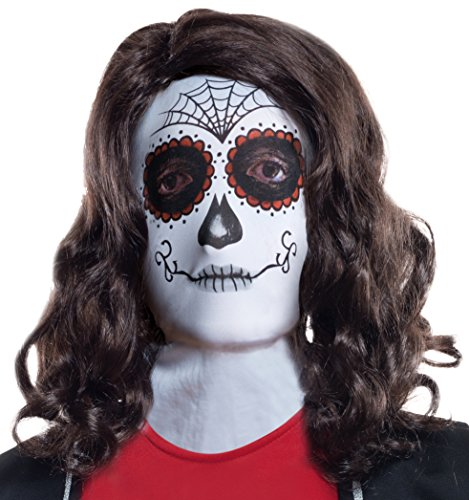 Rubie's Costume Co Women's Day Of The Dead Female Mask
