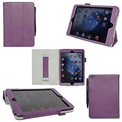 ProCase (TM) iPad mini case Slim Leather Case for Apple iPad mini 7.9 inch Tablet, built-in Smart Cover, elastic...