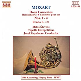 Horn Concerto No. 1 in D major, K. 412: I. Allegro