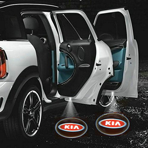 2 X 5Th Gen Car Door Shadow Laser Projector Logo Led Light For Kia All Series Sorento Ceed Cerato Carnival Sporage R Ceed Sw Rio Soul Optima Venga