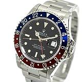 [ロレックス]ROLEX GMTマスター 青赤ベゼル Ref. 16700 S番 1993年製 オートマチック/自動巻き ブラック/黒文字盤 メンズ 中古