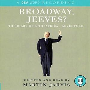 Broadway, Jeeves? Audiobook