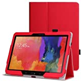 WAWO Samsung Galaxy Tab PRO 10.1 inch Tablet Smart Cover Folio Case - Red