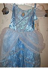 Girls' Cinderella Costume (Size Small, 4-6X)