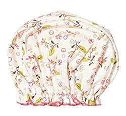 Bouffant Shower Cap By Gal Pal Olive Vines