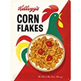Nostalgic Art 23181 Tin Sign Kellogg's Corn Flakes Cornelius 30 x 40 cm