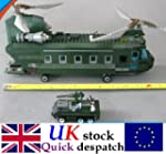 Chinook Helicopter & Jeep set c/w Arm...