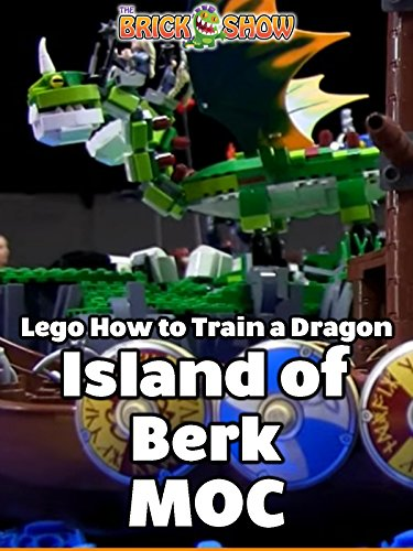 LEGO How to Train A Dragon, Island of Berk MOC