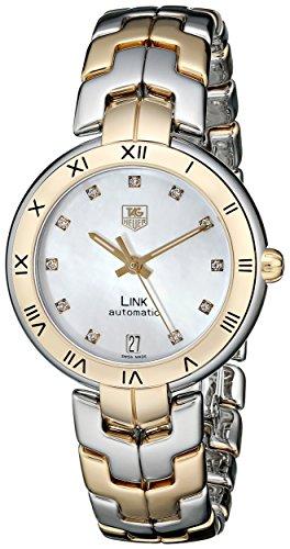 Tag Heuer Women'S Wat2351.Bb0957 Link Analog Display Swiss Automatic Two Tone Watch