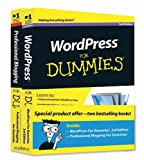 img - for WordPress For Dummies, 3rd Edition and Professional Blogging For Dummies, Book Bundle [Paperback] book / textbook / text book